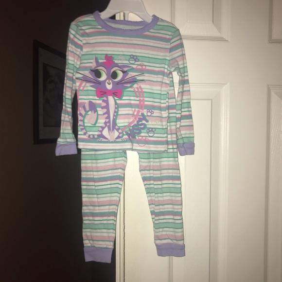 075dc4e11 Disney Pajamas | Puppy Dog Pal Girls Hissy Cat Stripped | Poshmark